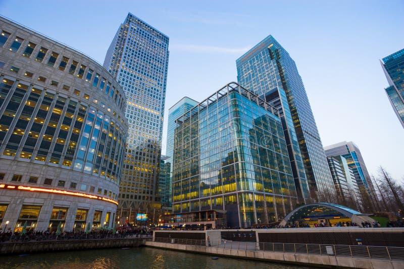 Επιχειρησιακό κτίριο γραφείων στο Λονδίνο, Αγγλία, UK στοκ εικόνα