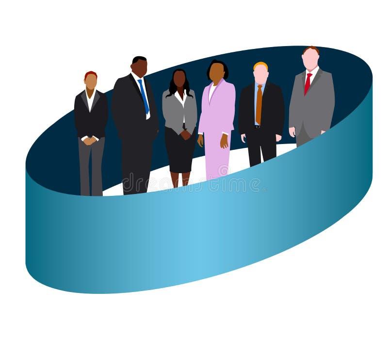 Επιχειρησιακό λογότυπο ελεύθερη απεικόνιση δικαιώματος