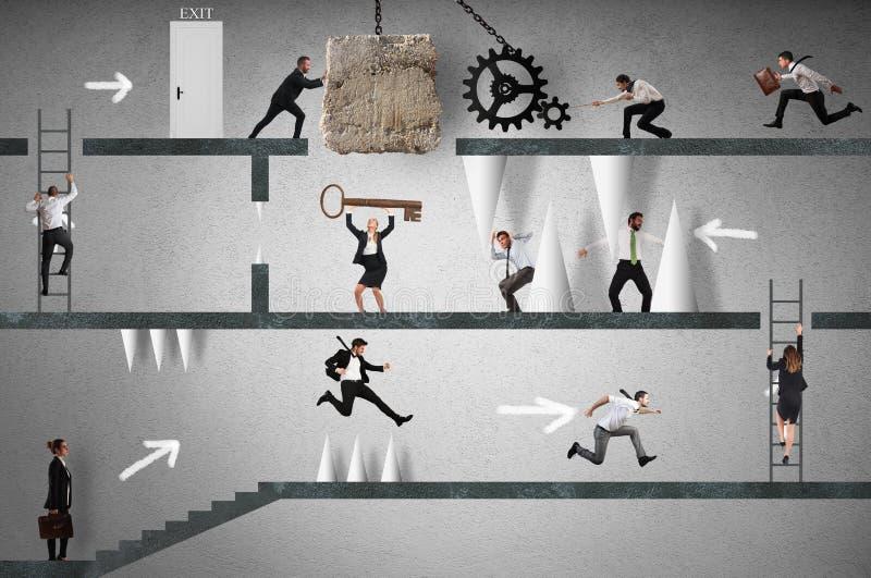 Επιχειρησιακό παιχνίδι στοκ φωτογραφία με δικαίωμα ελεύθερης χρήσης