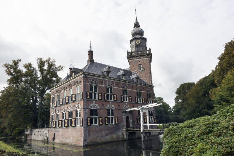 Επιχειρησιακό πανεπιστήμιο nyebrode στο ολλανδικό χωριό Breukelen στοκ εικόνα
