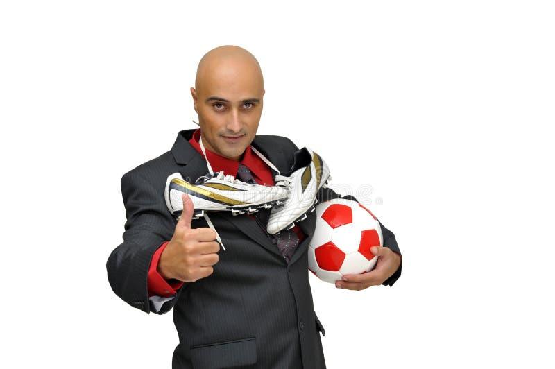 επιχειρησιακό ποδόσφαιρ& στοκ φωτογραφία