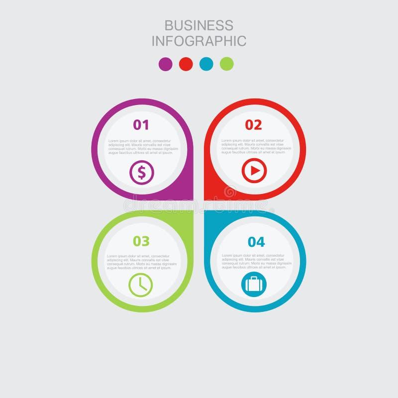 Επιχειρησιακό πρότυπο, έγγραφο αριθμού, περικοπή temlate Εννοιολογικό δημιουργικό πρότυπο, στοιχεία infographics απεικόνιση αποθεμάτων