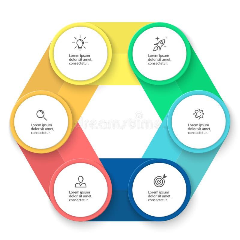 Επιχειρησιακό πρότυπο Infographic απεικόνιση αποθεμάτων
