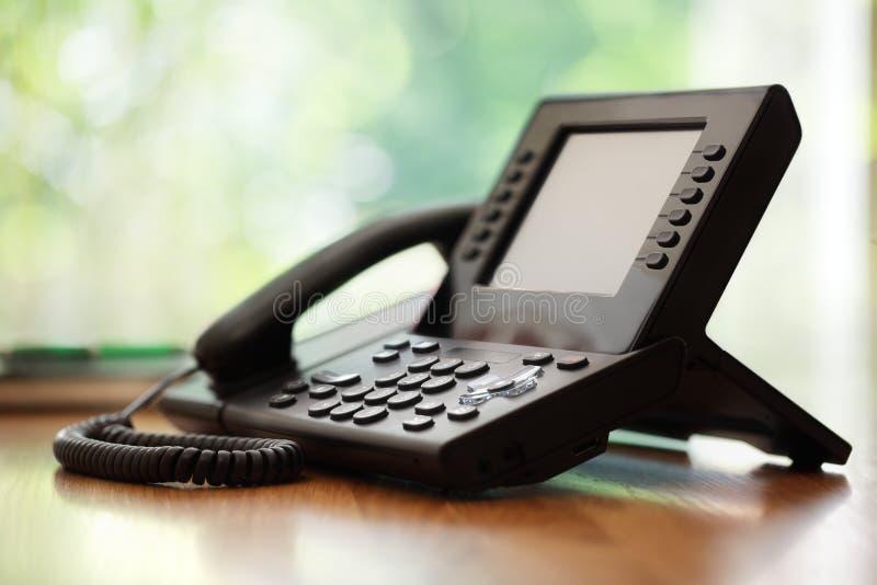 Επιχειρησιακό τηλέφωνο στοκ εικόνες