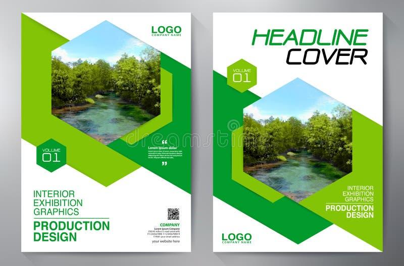 Επιχειρησιακό φυλλάδιο Σχέδιο ιπτάμενων Πρότυπο φυλλάδιων a4 Κάλυψη Boo απεικόνιση αποθεμάτων