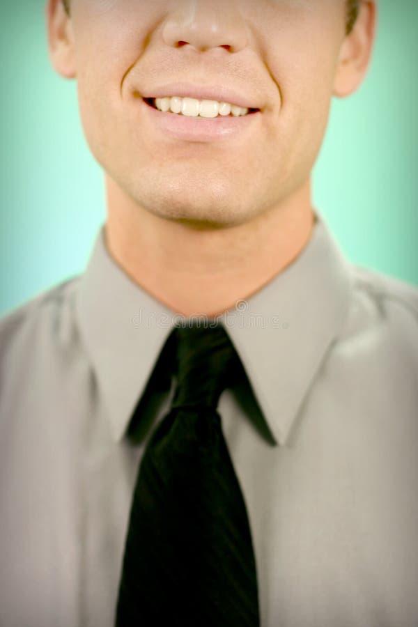 επιχειρησιακό χαμόγελο στοκ εικόνες με δικαίωμα ελεύθερης χρήσης