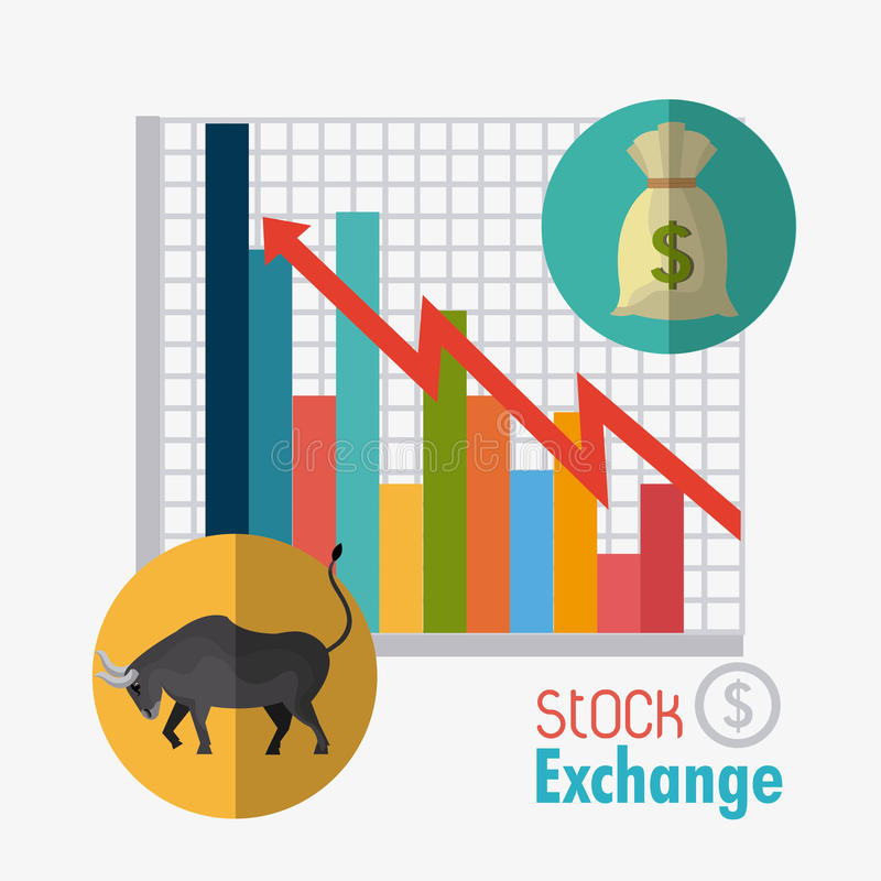 Επιχειρησιακό χρηματιστήριο απεικόνιση αποθεμάτων