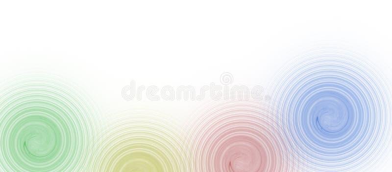 επιχειρησιακό χρώμα 4 συνόρ& απεικόνιση αποθεμάτων