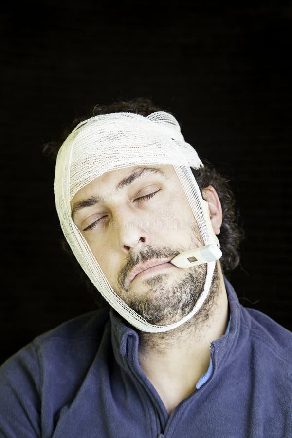 Επιδεμένοι άρρωστοι ατόμων στοκ φωτογραφίες με δικαίωμα ελεύθερης χρήσης