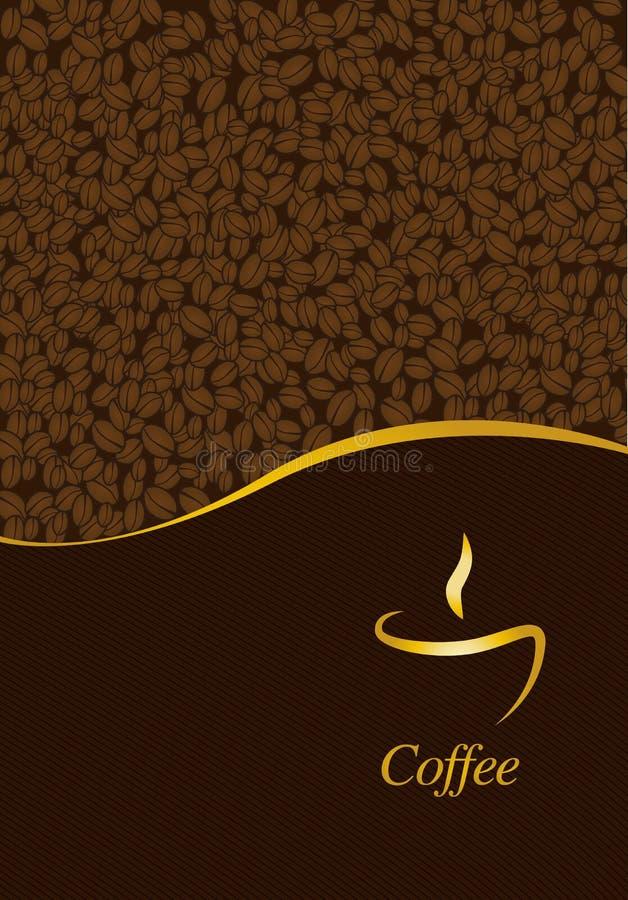 Επιλογές για το εστιατόριο καφέδων διανυσματική απεικόνιση