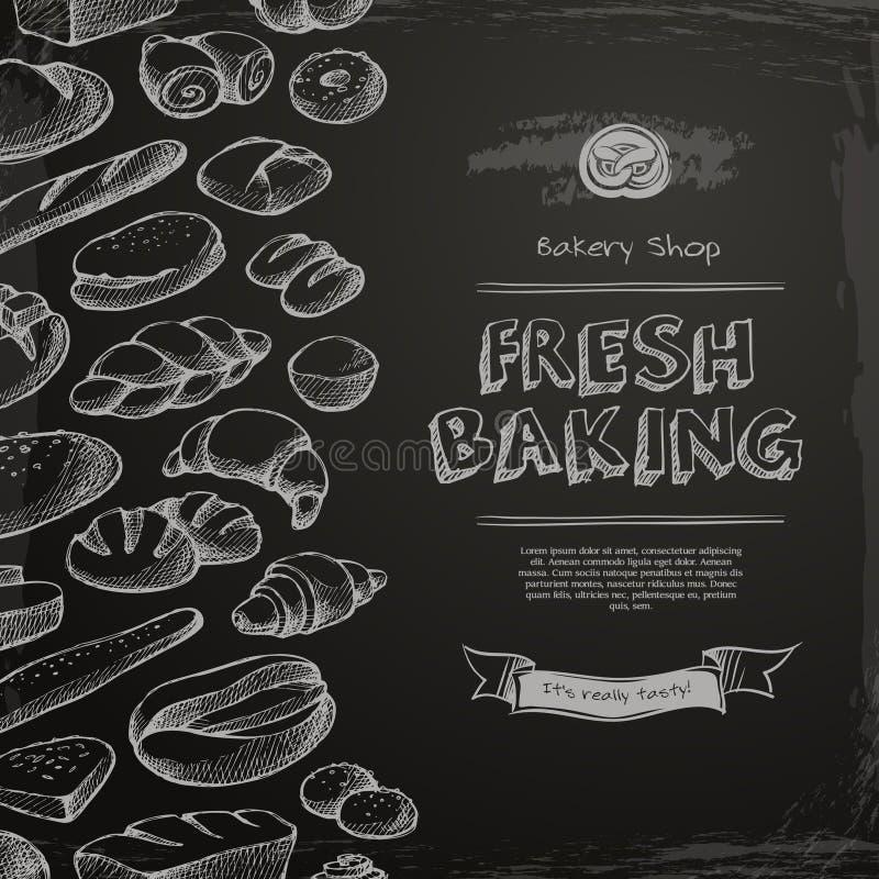 Επιλογές καταστημάτων αρτοποιείων ελεύθερη απεικόνιση δικαιώματος