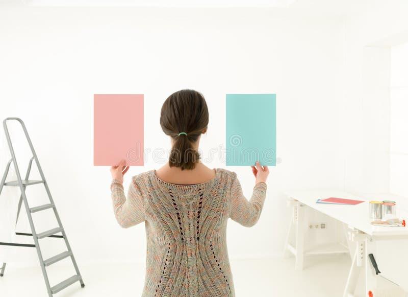 Επιλογή εργασίας χρωμάτων στοκ εικόνα με δικαίωμα ελεύθερης χρήσης