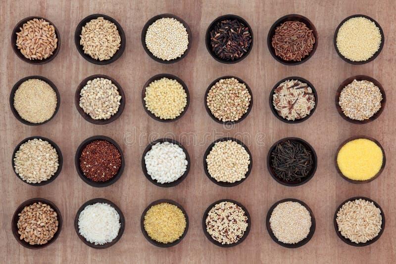 Επιλογή σιταριού και δημητριακών στοκ εικόνες