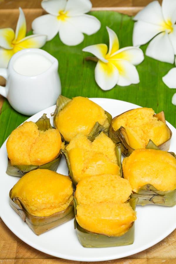 Επιδόρπιο κέικ φοινικών χυμού φοινικόδεντρου στοκ εικόνες