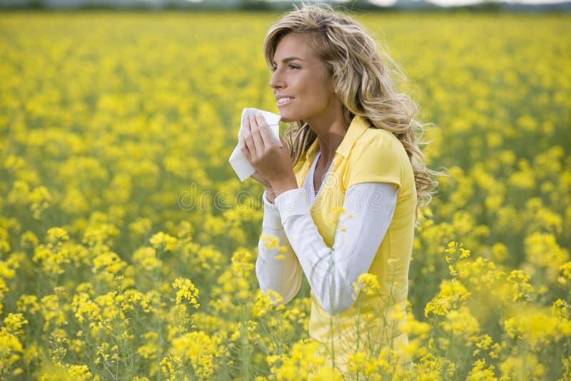 Εποχή αλλεργίας στοκ εικόνες με δικαίωμα ελεύθερης χρήσης