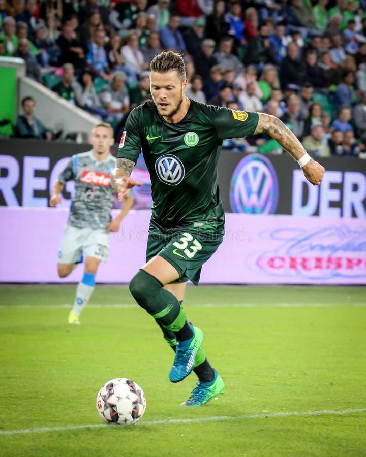 Εποχή του Ντάνιελ Ginczek ποδοσφαιριστών το 2018-2019 στοκ φωτογραφίες με δικαίωμα ελεύθερης χρήσης