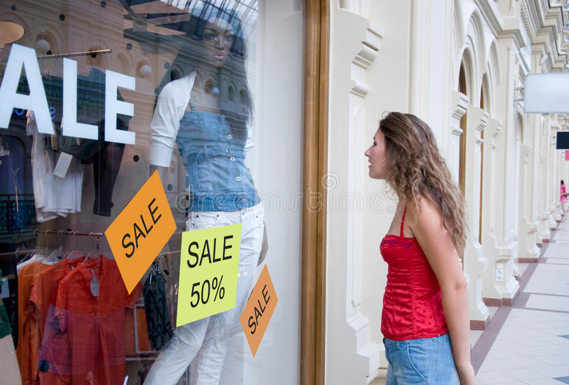 Εποχή των πωλήσεων στοκ εικόνες με δικαίωμα ελεύθερης χρήσης