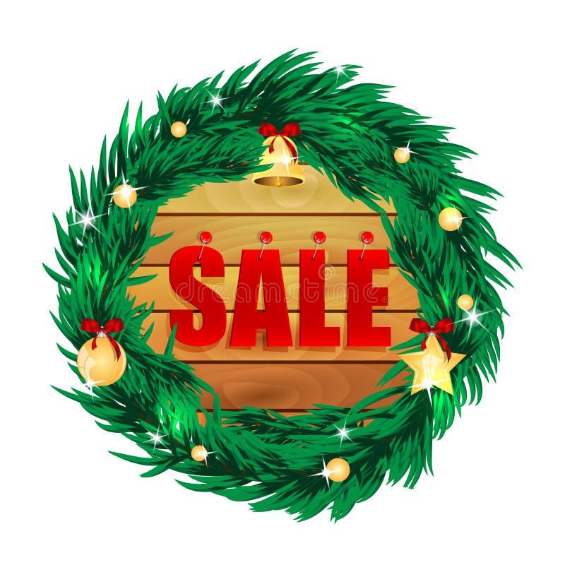 Εποχιακή πώληση Χριστουγέννων ελεύθερη απεικόνιση δικαιώματος