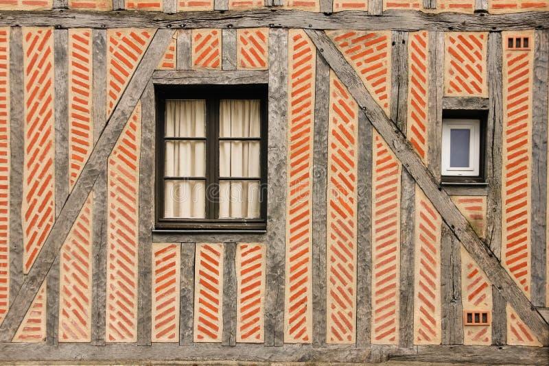 λεπτομέρεια Μεσαιωνικό κτήριο γύροι Γαλλία στοκ εικόνες