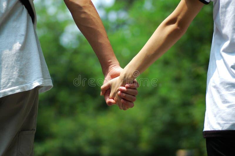 εραστές χεριών στοκ φωτογραφία με δικαίωμα ελεύθερης χρήσης