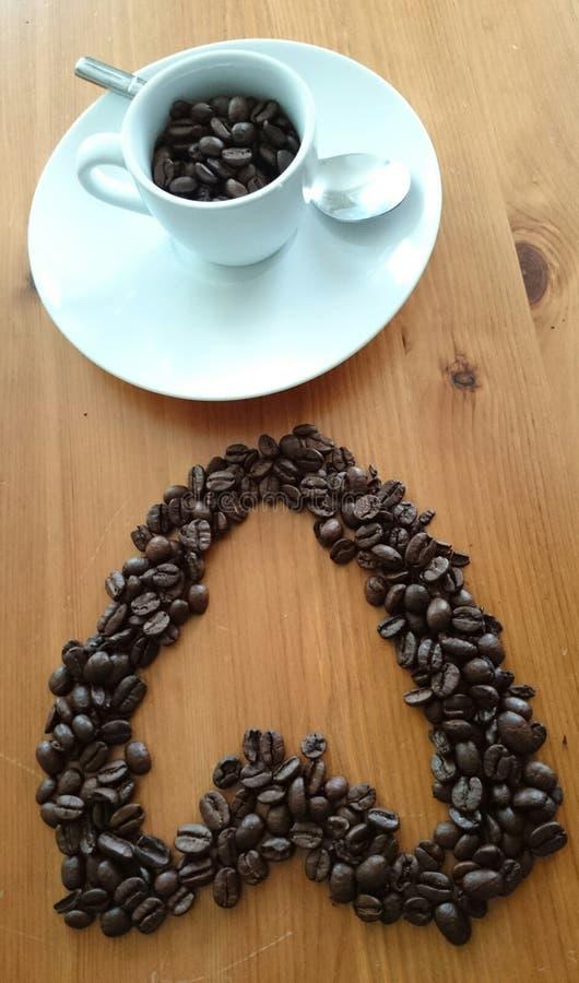 Εραστής καφέ στοκ φωτογραφίες