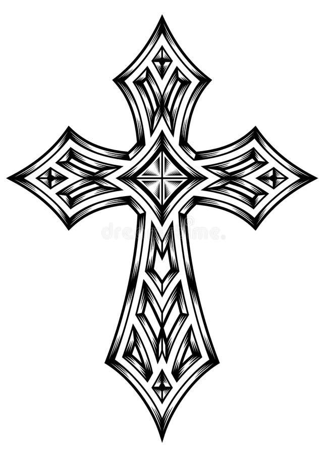 Εραλδικός σταυρός ελεύθερη απεικόνιση δικαιώματος
