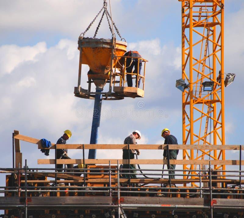 εργάτες οικοδομών στοκ εικόνες με δικαίωμα ελεύθερης χρήσης