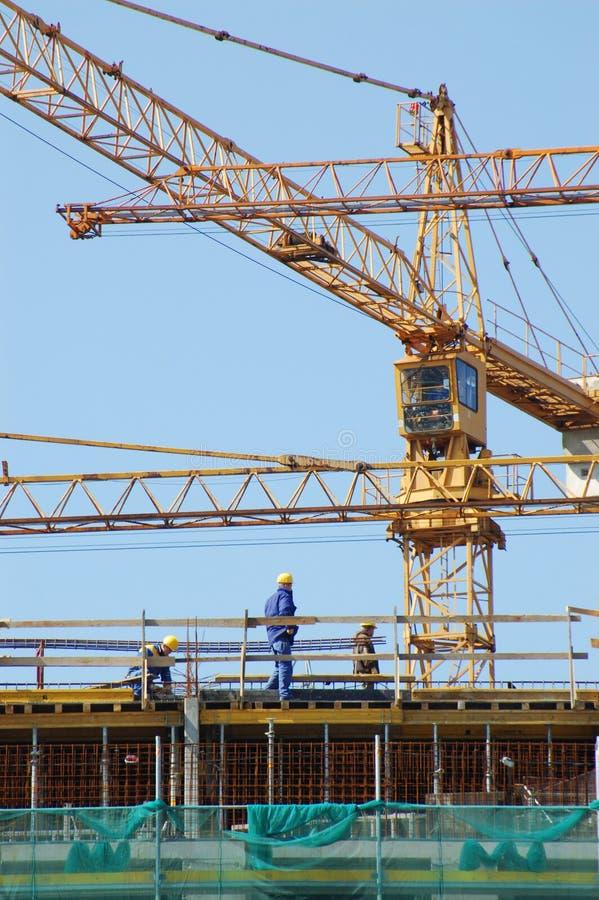 εργάτες οικοδομών στοκ εικόνες