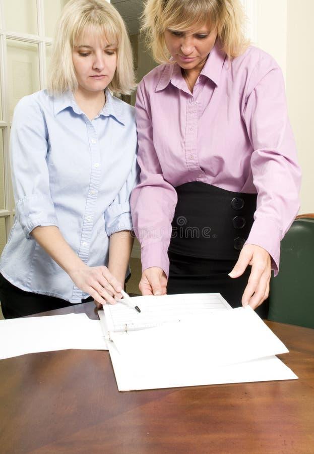 εργαζόμενοι γυναικών στοκ εικόνα