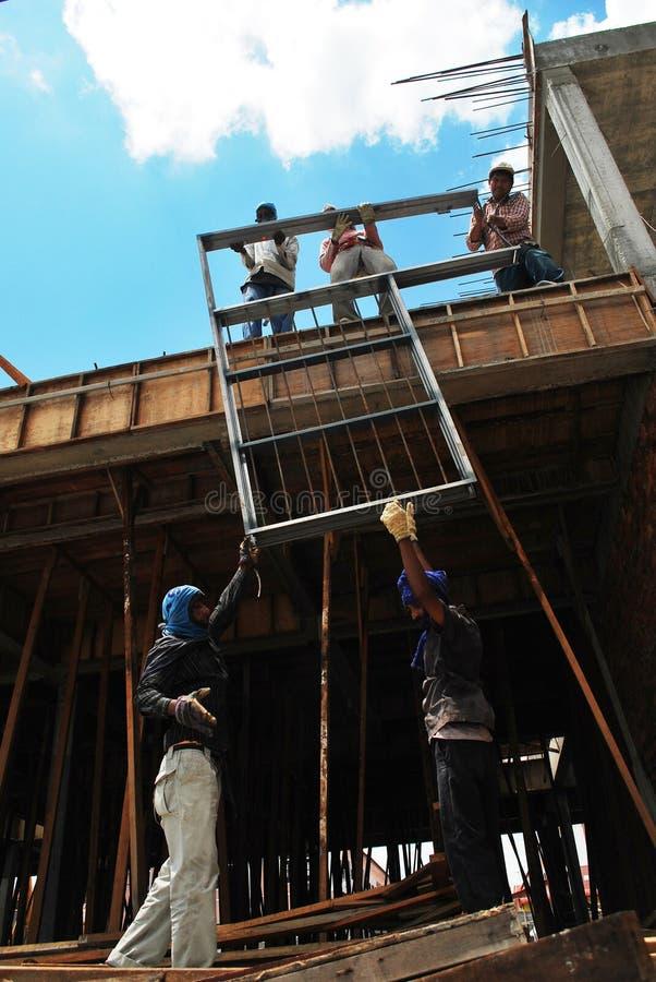 Εργαζόμενοι εργασίας στοκ εικόνα με δικαίωμα ελεύθερης χρήσης