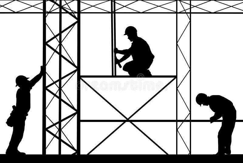 εργαζόμενοι ελεύθερη απεικόνιση δικαιώματος