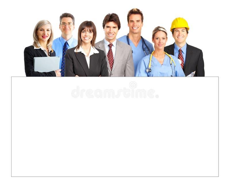 εργαζόμενοι στοκ εικόνα
