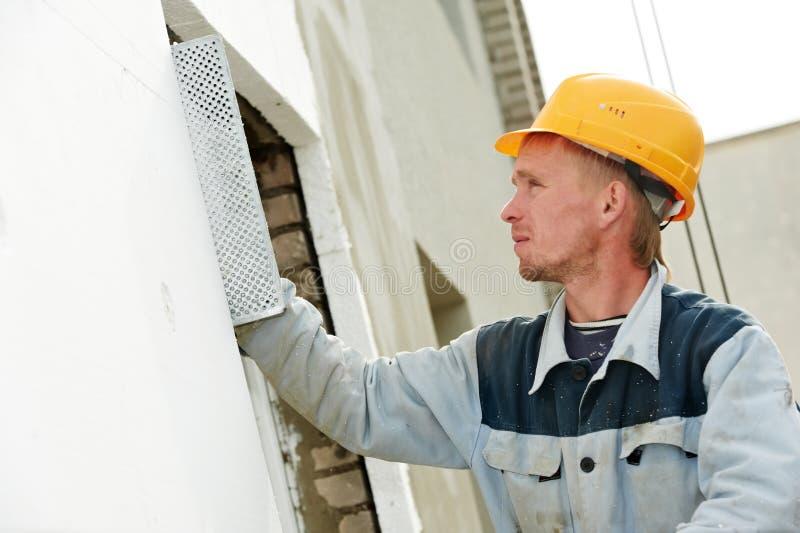 εργαζόμενος γυψαδόρων π&rh στοκ φωτογραφία με δικαίωμα ελεύθερης χρήσης