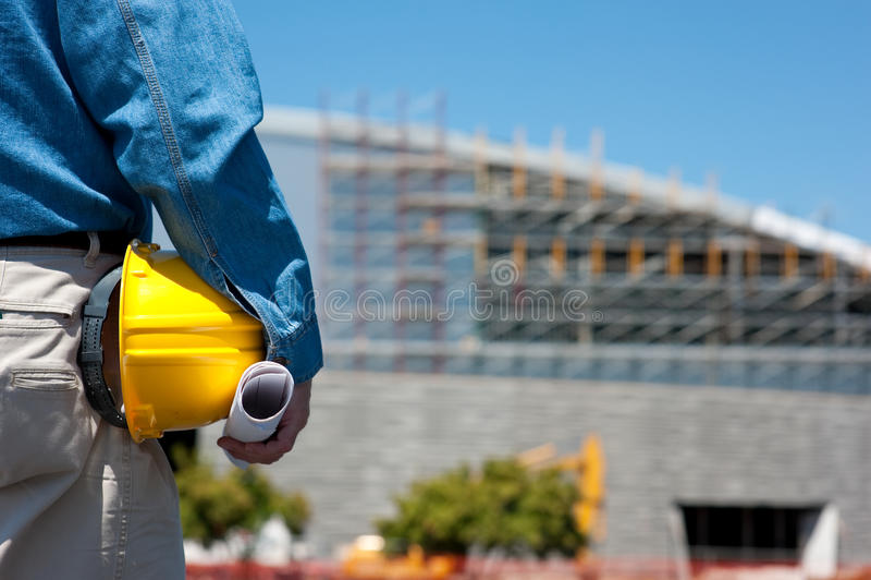 εργαζόμενος εργοτάξιων &o στοκ φωτογραφία με δικαίωμα ελεύθερης χρήσης