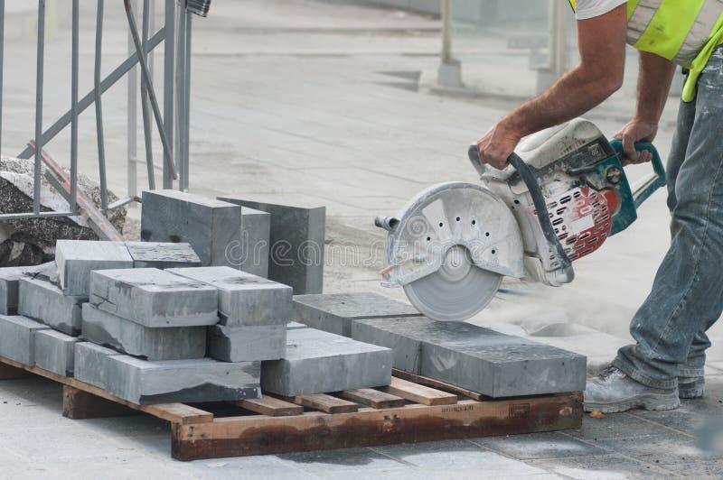 εργαζόμενος εργοτάξιων &o στοκ εικόνα με δικαίωμα ελεύθερης χρήσης
