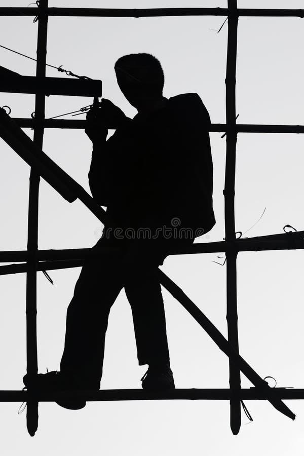 Download εργαζόμενος μπαμπού στοκ εικόνα. εικόνα από bamberger, επισκευαστής - 397357