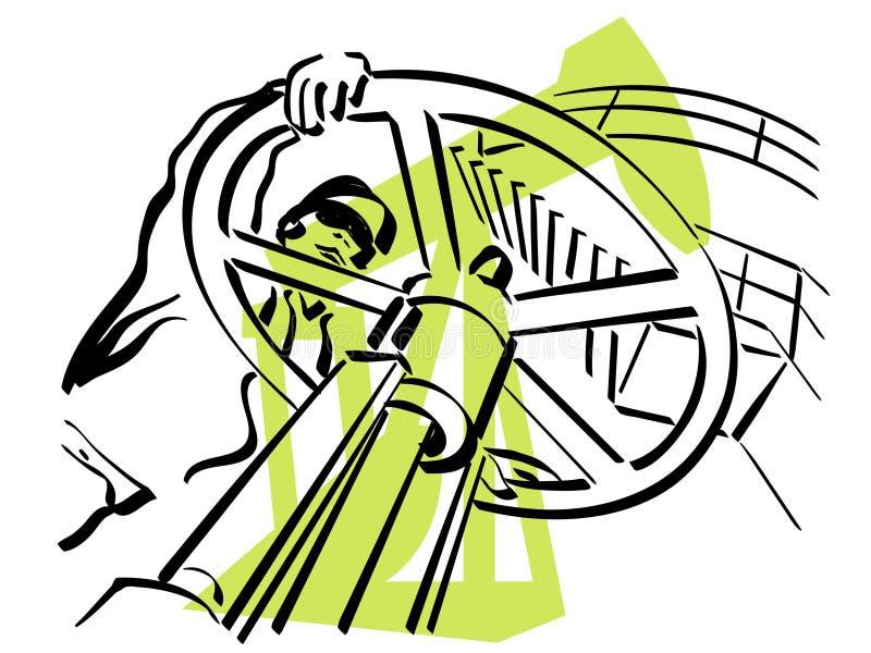 εργαζόμενος πετρελαίο&up απεικόνιση αποθεμάτων