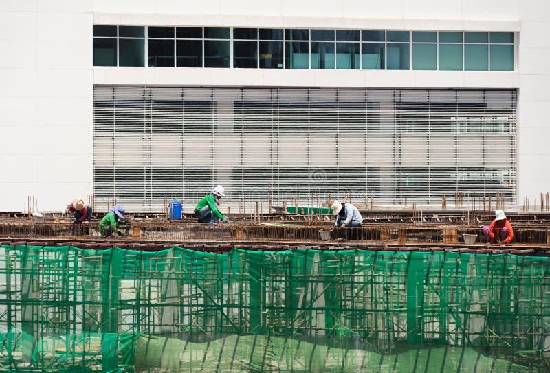 Εργαζόμενος του εργοτάξιου οικοδομής στοκ φωτογραφία με δικαίωμα ελεύθερης χρήσης