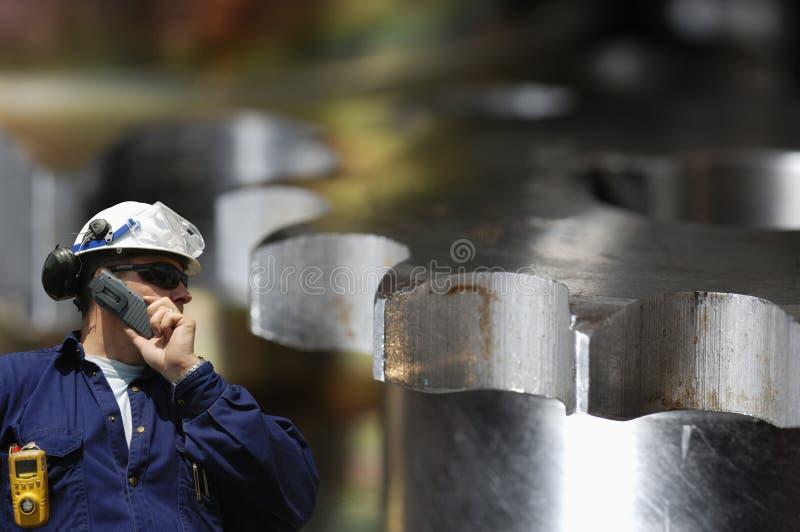 εργαζόμενος χάλυβα εργ&a στοκ φωτογραφίες με δικαίωμα ελεύθερης χρήσης