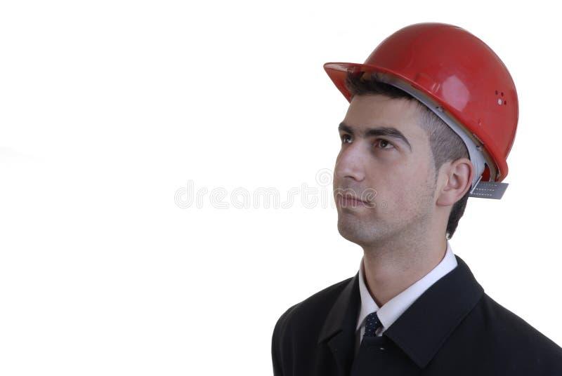 Download εργαζόμενος στοκ εικόνα. εικόνα από καπέλο, εμπόριο, επιστάτης - 1548051