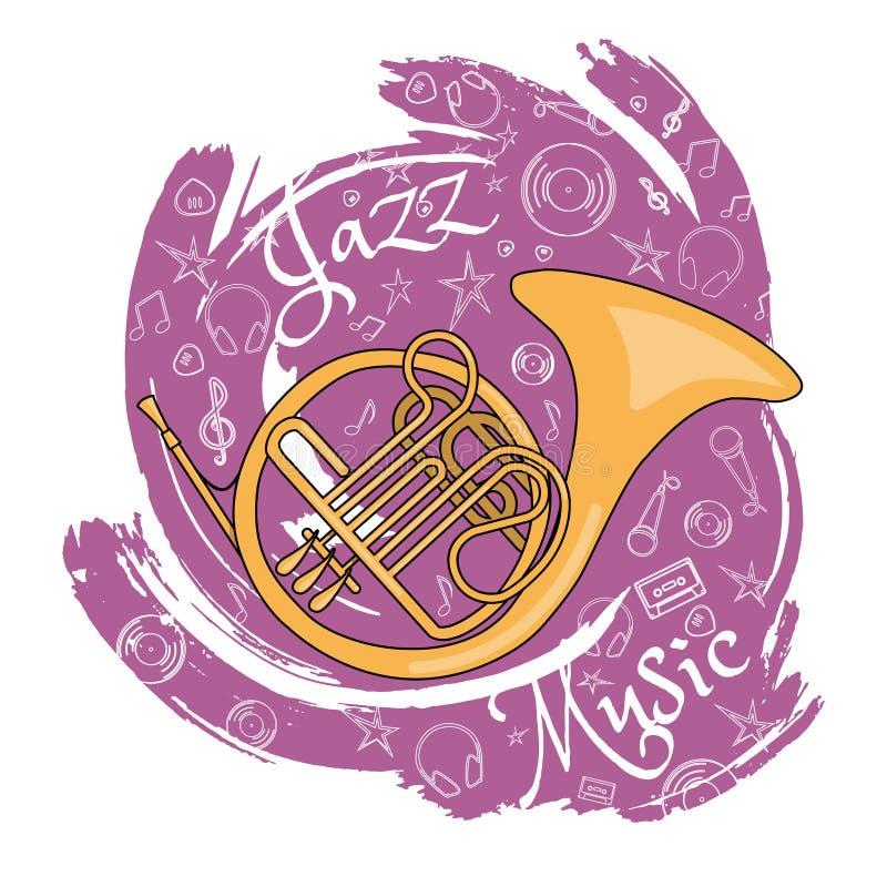 Εργαλεία αφαίρεση-02 της Jazz ελεύθερη απεικόνιση δικαιώματος