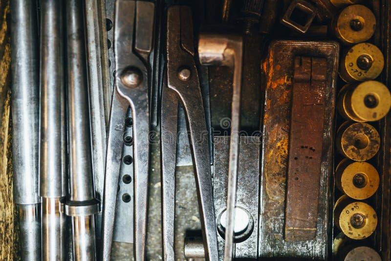 Εργαλεία ενός jeweler στοκ εικόνες με δικαίωμα ελεύθερης χρήσης