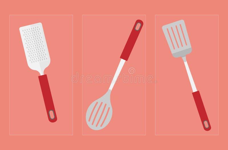 Εργαλεία 001 εργαλείων κουζινών στοκ εικόνες με δικαίωμα ελεύθερης χρήσης