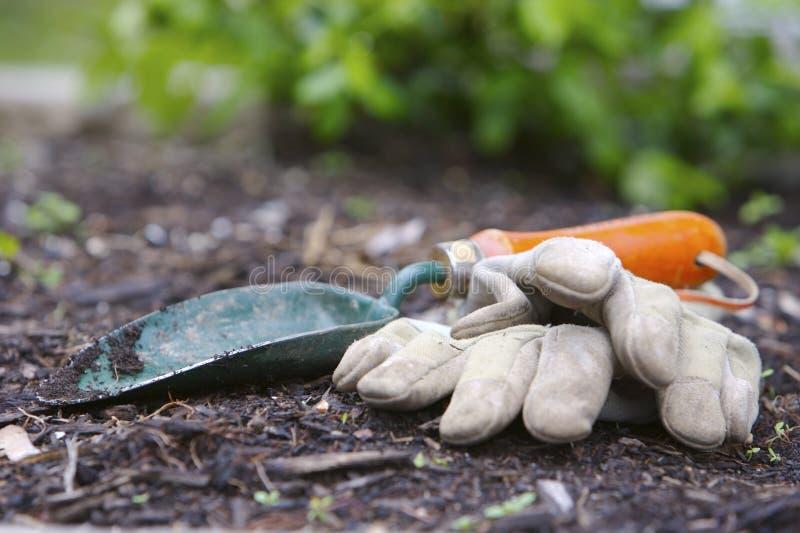 εργαλεία κήπων στοκ φωτογραφίες