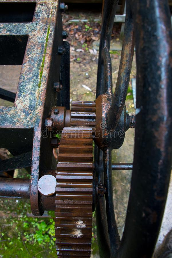 Εργαλεία και cogwheels, Ισπανία στοκ φωτογραφία