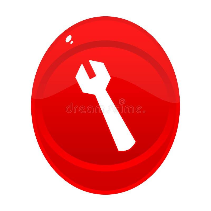 εργαλεία κουμπιών διανυσματική απεικόνιση