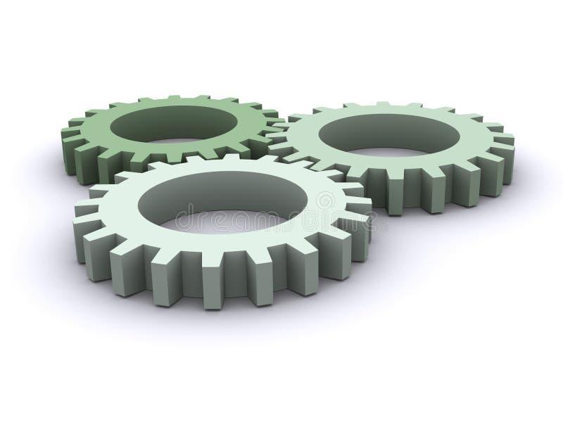εργαλεία τρία απεικόνιση αποθεμάτων