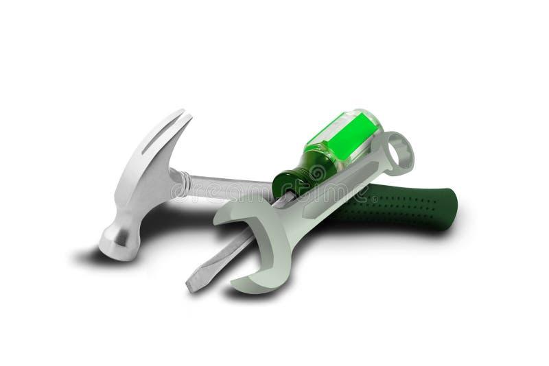 εργαλεία υλικού απεικόνιση αποθεμάτων