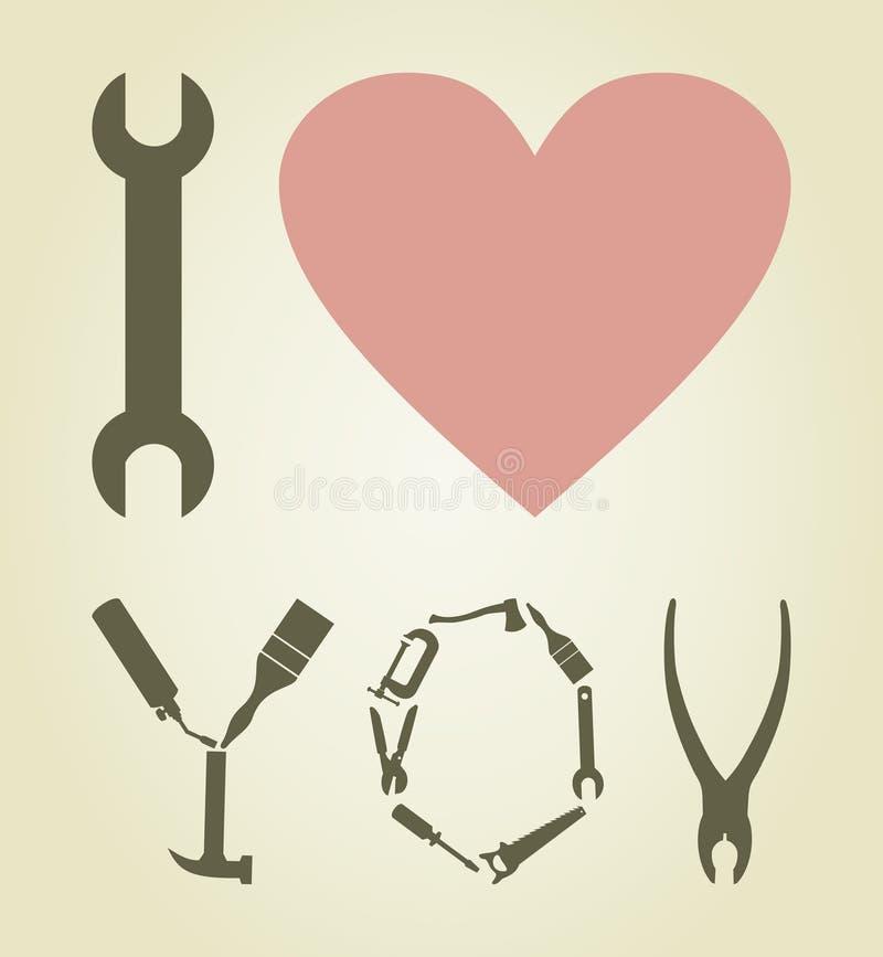 εργαλείο αγάπης ελεύθερη απεικόνιση δικαιώματος
