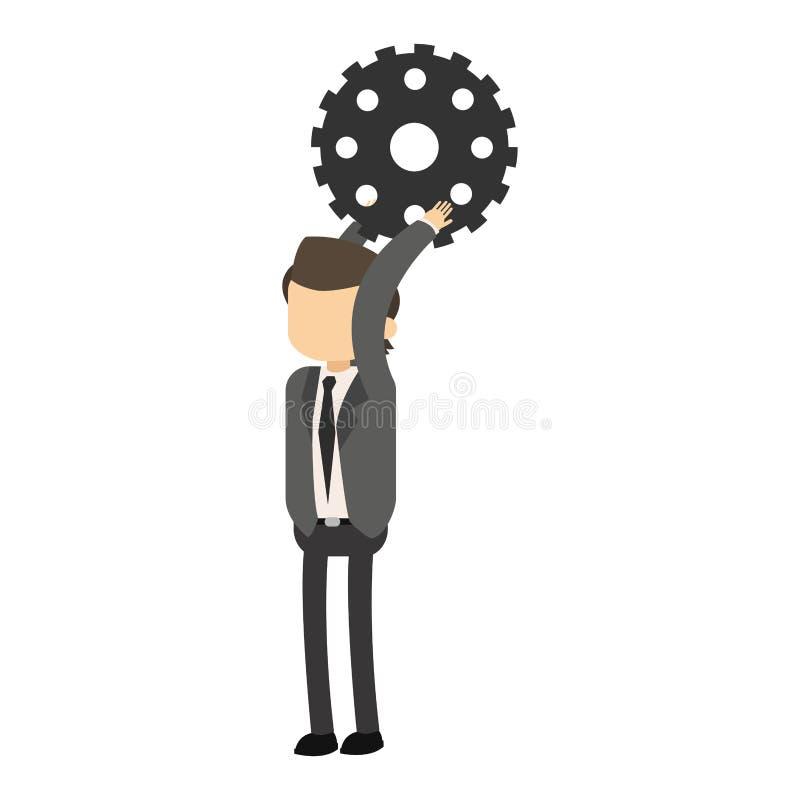 Εργαλείο εκμετάλλευσης επιχειρηματιών απεικόνιση αποθεμάτων